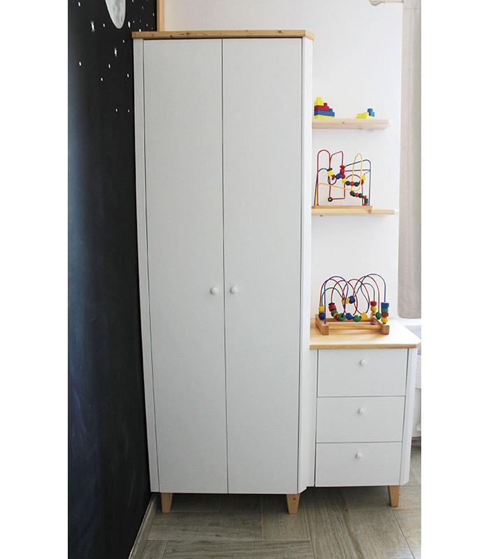"""Struttura armadio progettata da una designer """"mamma"""""""