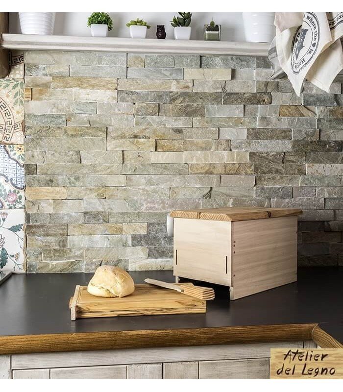 Breadbox: il porta pane di design in cedro bianco!