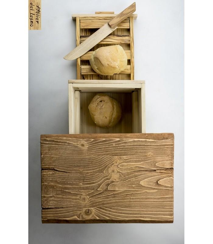 Breadbox: portapane con tagliere, un'idea regalo originale!