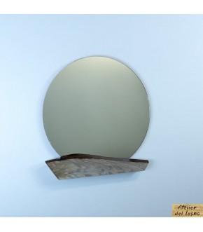 Mirror White Cedar: Specchio Legno Cedro Bianco