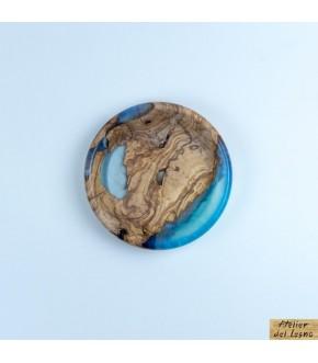 Resin Wooden Bowl: ciotola resina e legno ulivo