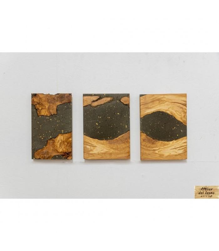 Untitled (Maps): dal recupero di materiali come legno, cemento e mattonelle antiche