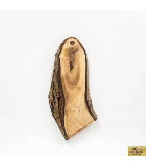 Tagliere stile rustico, da legno di ulivo recuperato