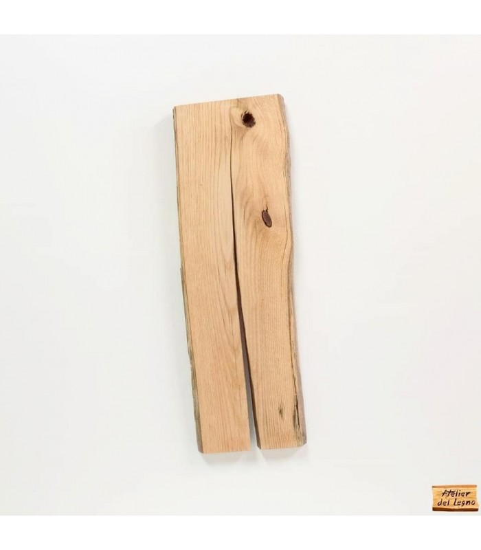 Tavola in legno di castagno per vasca da bagno.